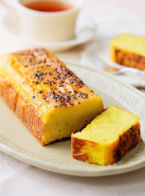 糀甘酒とさつまいものチーズケーキ