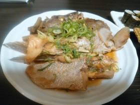 コロダイのアラ煮