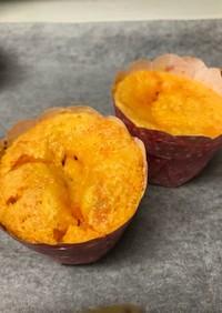 ☆カボチャのオレンジカップケーキ☆