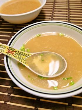 まろやか♪溶き卵の中華風スープ