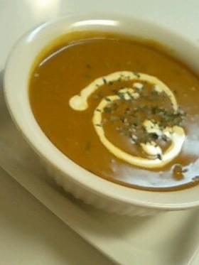 南瓜の簡単☆カレースープ