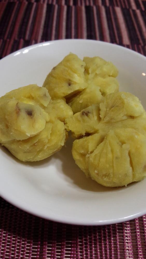 レンジで☆さつまいもとバナナのマッシュ