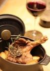 骨付き鴨肉のオーブン焼き
