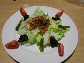 カリカリじゃがのサラダ
