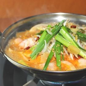 豚白もつのキムチ鍋(激辛)編