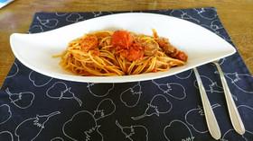 トマトソーススパゲッティ(ピッツァにも)