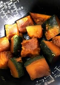 かぼちゃ 煮物 簡単 炊飯器