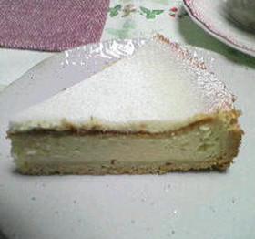 レモン香る☆簡単チーズケーキ