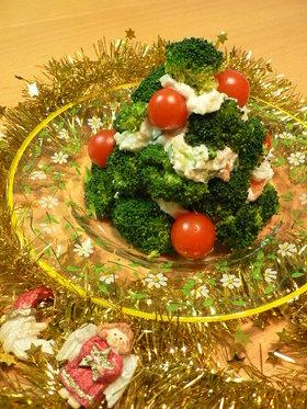 ポテトサラダ☆クリスマスツリー仕立て