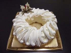 クリスマス☆レアチーズモンブラン
