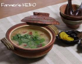 【農家のレシピ】梅みぞれ雑炊