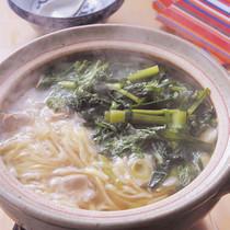 青菜たっぷり煮込みラーメン