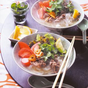 牛肉のベトナム風フォー