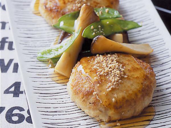 れんこん豆腐ハンバーグ