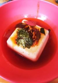 簡単!火を使わない、豆腐料理
