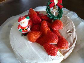 2色のクリスマスケーキ