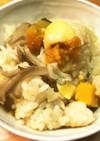 栗×栗かぼちゃの炊込みご飯 by パーシー・M