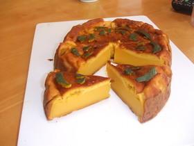 パンプキンプリンケーキ!濃厚で美味しい!