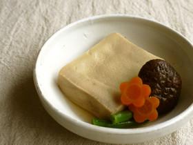 簡単♪高野豆腐と椎茸の煮物(上品甘め)