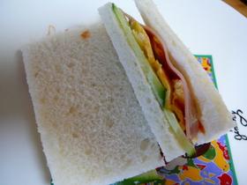 我が家の定番☆サンドイッチ