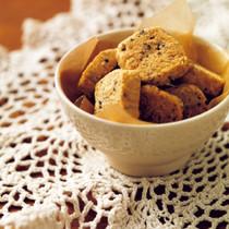 黒ごまきな粉クッキー