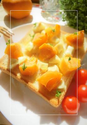 柿×クリチに、塩・レモントースト