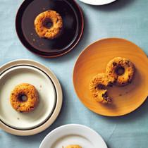 米粉の焼きドーナツ