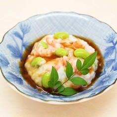 長芋のふわもちレンジ蒸し~生姜ぽん酢あん