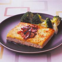 ガーリック豆腐ステーキ