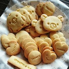 簡単さくさく*型抜きクッキー