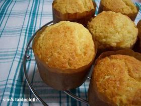 Muffin*サラダ油で作る簡単マフィン