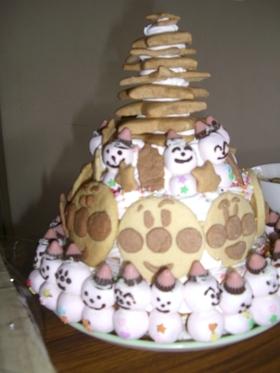 アンパンマン★ツリークリスマスケーキ