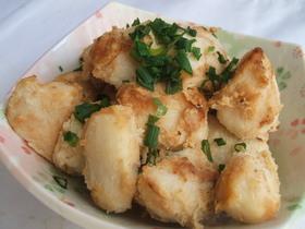 里芋のバターポン酢