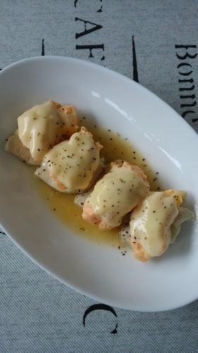コンビニ食材de鶏の明太子ポテトチーズ!