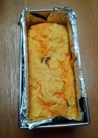 米油で人参ケーキ 卵不使用