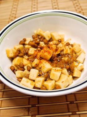 納豆と長いものネバネバサラダ♪