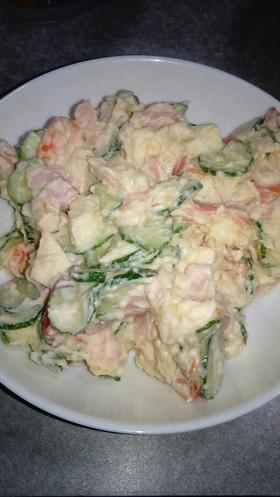 野菜いっぱいのポテトサラダ♥