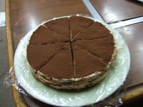 簡単!ワンボルでティラミス風ケーキ