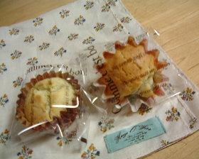 さっくりカップケーキ(紅茶風味)