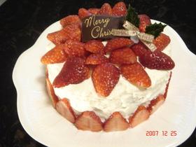 2007 クリスマスケーキ♪