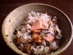 ฺ✿ฺ❀鮭ひじき飯ฺ❀✿ฺ