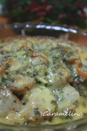 帆立のチーズ焼き