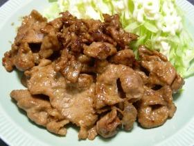 豚肉のマヨネーズ炒め