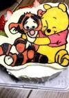 プーさんティガー誕生日ケーキ♡