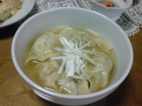 キムチ水餃子