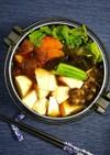簡単!ひとり鍋☆鶏生姜鍋