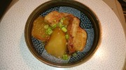 圧力鍋で簡単豚バラ大根の写真