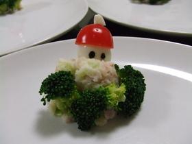 クリスマス・ポテトサラダ