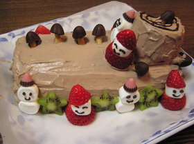 ♪アレルギーさんのクリスマスケーキ♪