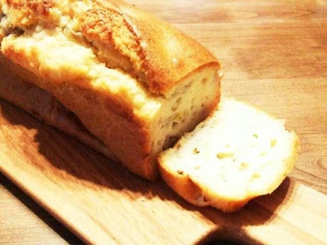 バナナケーキ バターなし
